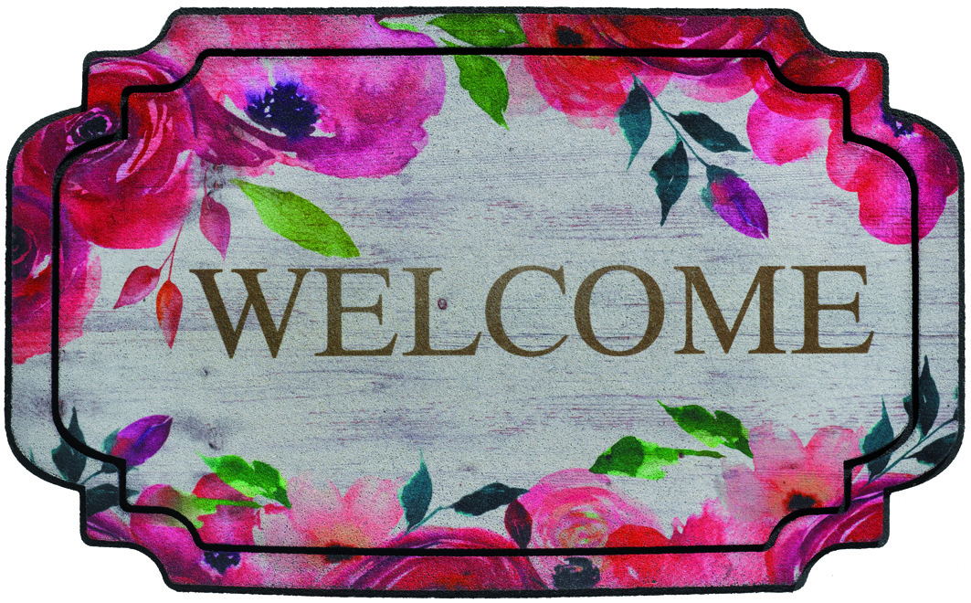Πατάκι Ecomat Welcome Flowers Boutique
