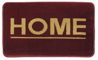 Πατάκι Fashion Home Wine Red