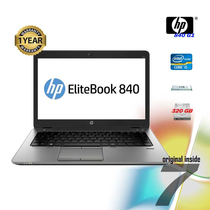 REFURBISHED HP 840 G1 i5 4200U 1.60GHz 14