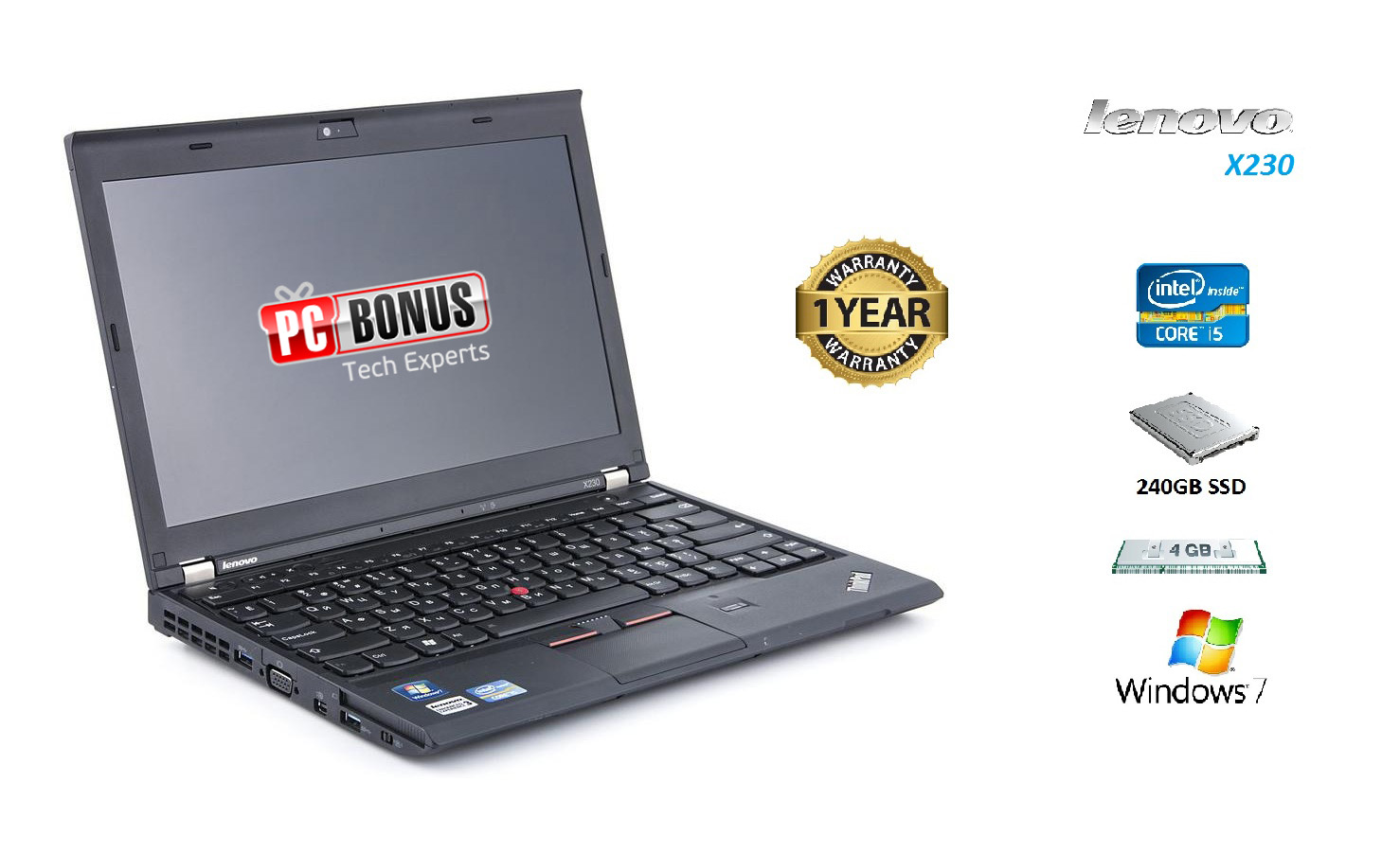 REFURBISHED LENOVO X230 12.5